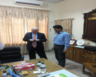 British High Commissioner to Dhaka  Mr. Robert Gibson paid a courtesy visit to Rangpur Divisional Commissionner Mr. Muhammad Dil